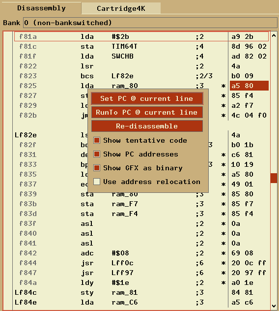 docs/graphics/debugger_romcmenu.png