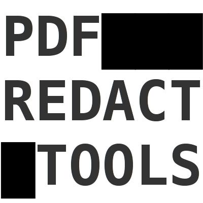 pdf-redact-tools avatar