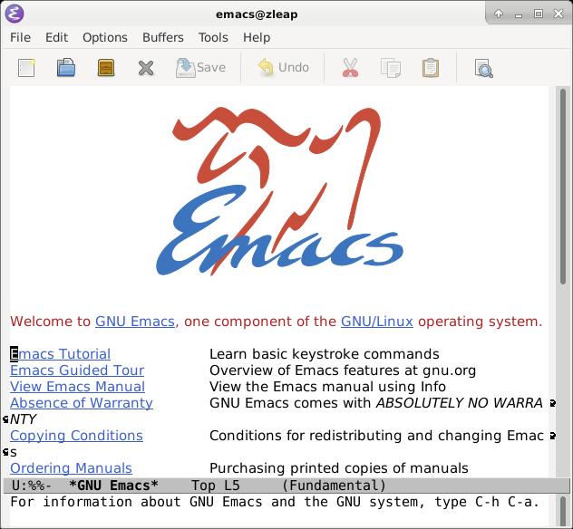 Emacs GUI